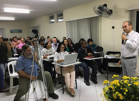 Semana de Estudos no Centro Cristão de Estudos Judaicos (CCDEJ)